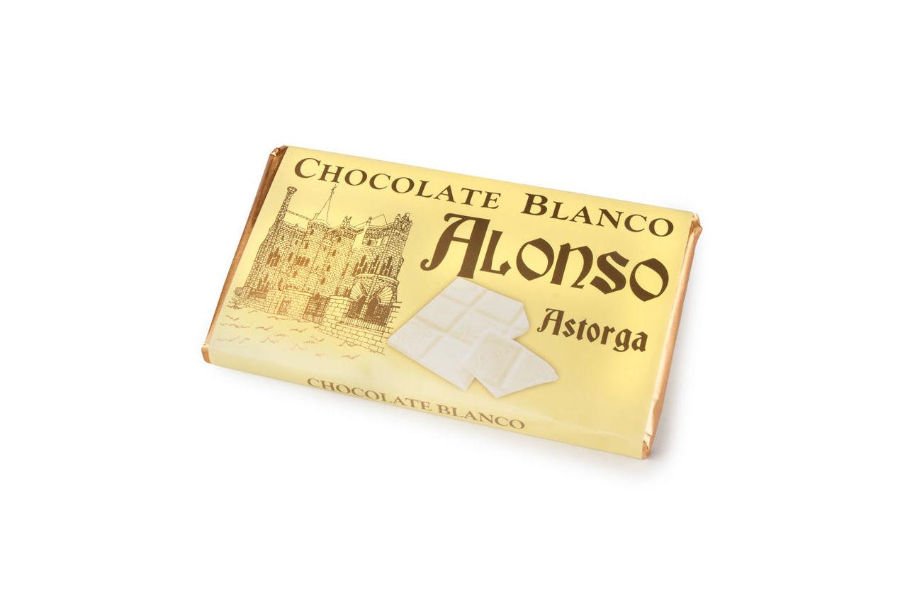 Chocolate blanco Alonso: Productos de El Racó del Bierzo