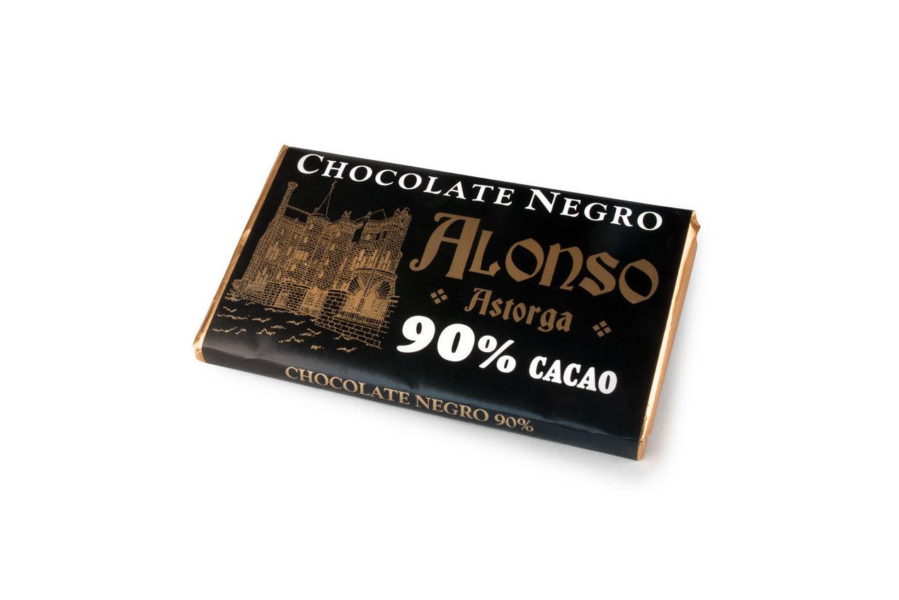 Chocolate negro puro 90% Alonso: Productos de El Racó del Bierzo