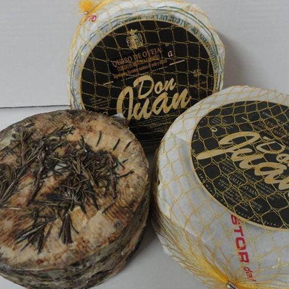 Queso oveja Manchego don Juan al romero: Productos de El Racó del Bierzo