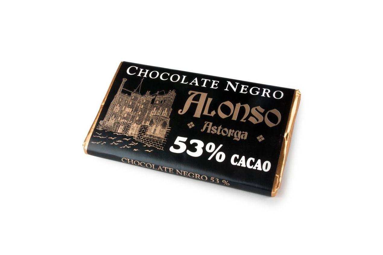 Chocolate Negro puro 53% Alonso: Productos de El Racó del Bierzo