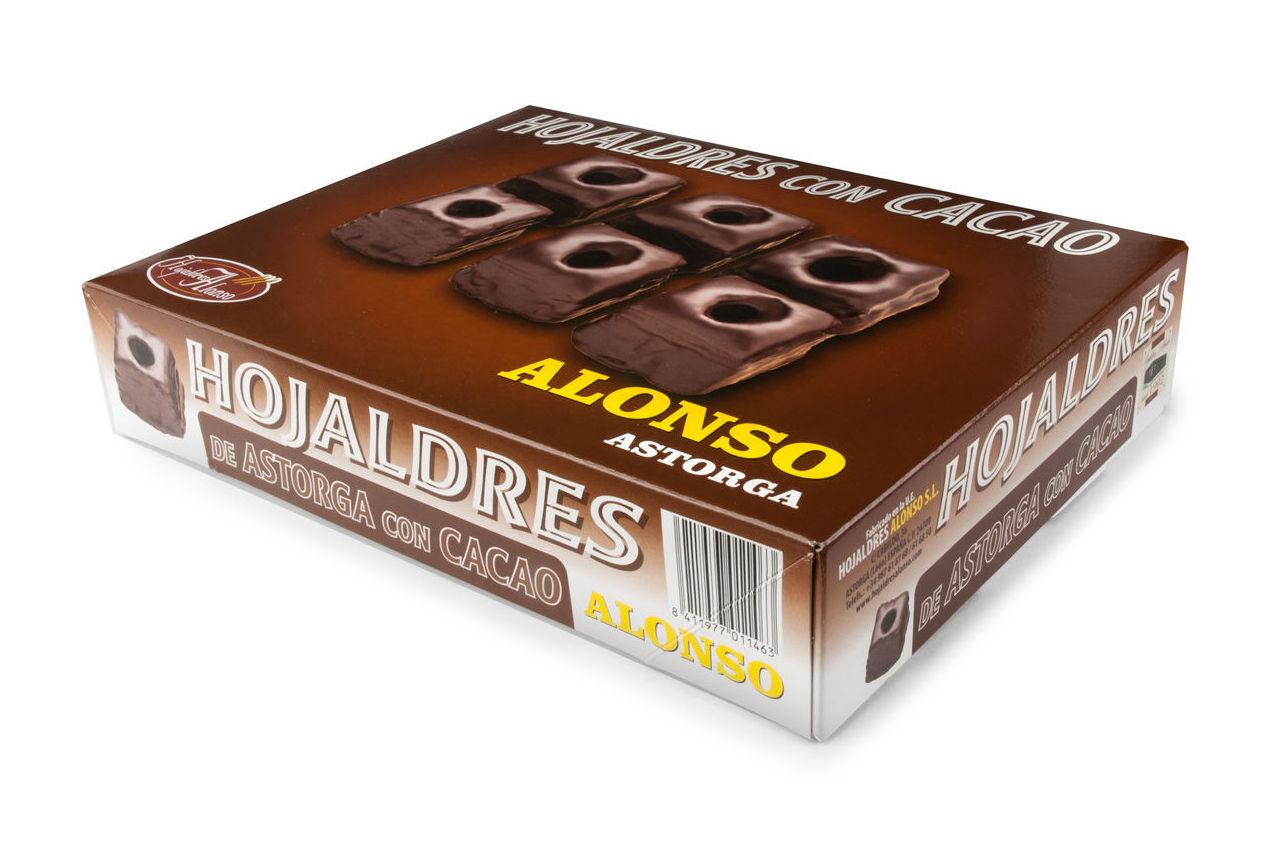 Hojaldres Con Cacao 400 grs.: Productos de El Racó del Bierzo