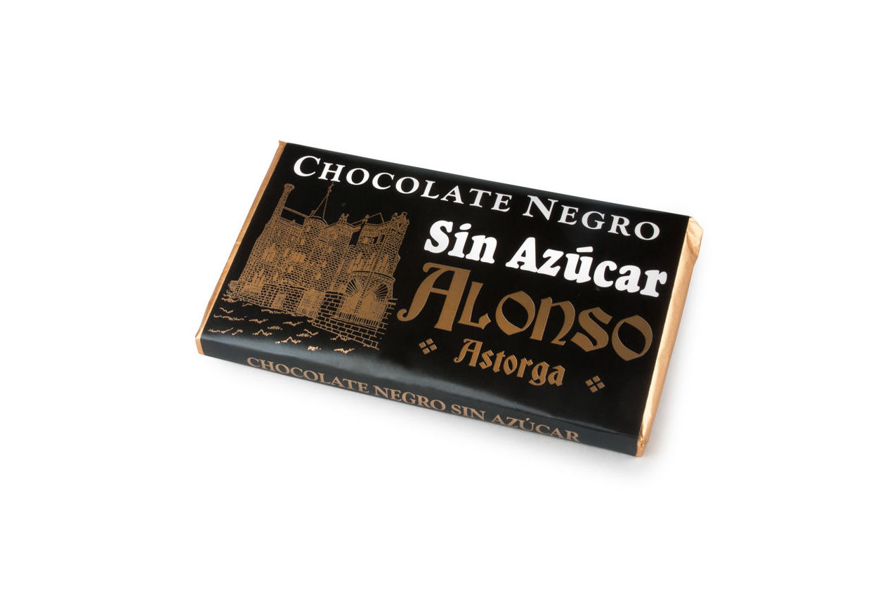 Chocolate negro sin azúcar Alonso: Productos de El Racó del Bierzo