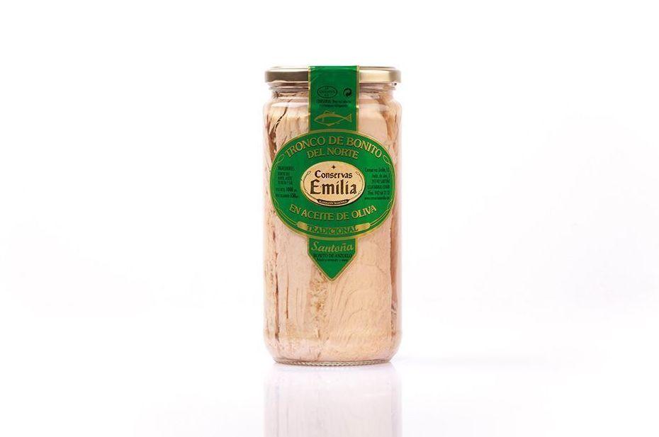 Tronco de Bonito del Norte en aceite de oliva 750 g: Productos de El Racó del Bierzo
