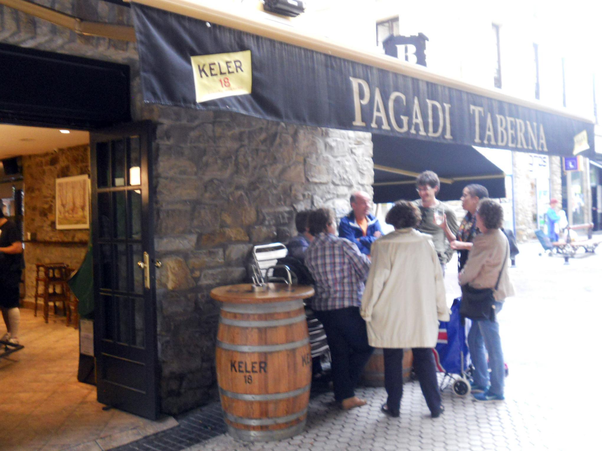 Pagadi Taberna, platos combinados en San Sebastián