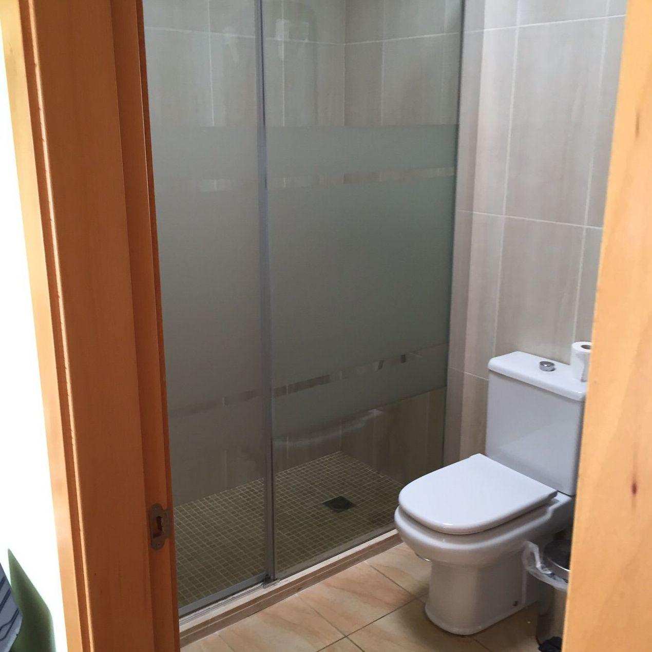 Mamparas de baño a medida en Santa Cruz de Tenerife