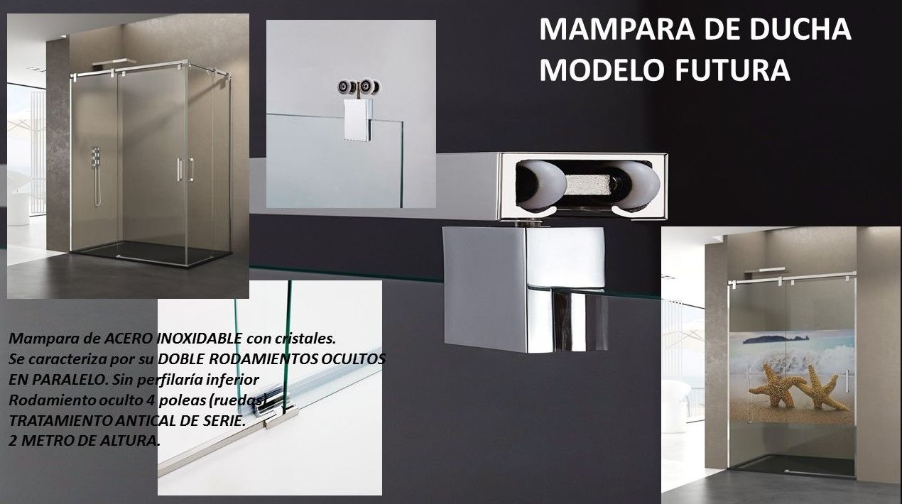 Foto 6 de Mamparas de baño en San Cristóbal de La Laguna | MAMPARAS WAJAL