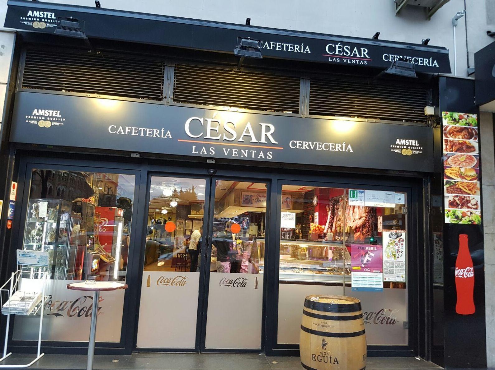 Foto 1 de Cafeterías en Madrid | Cafetería Cesar Las Ventas