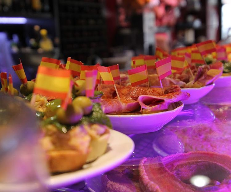 Bar de tapas en Madrid