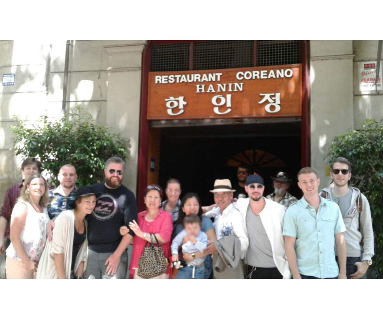 Cocina coreana en Barcelona