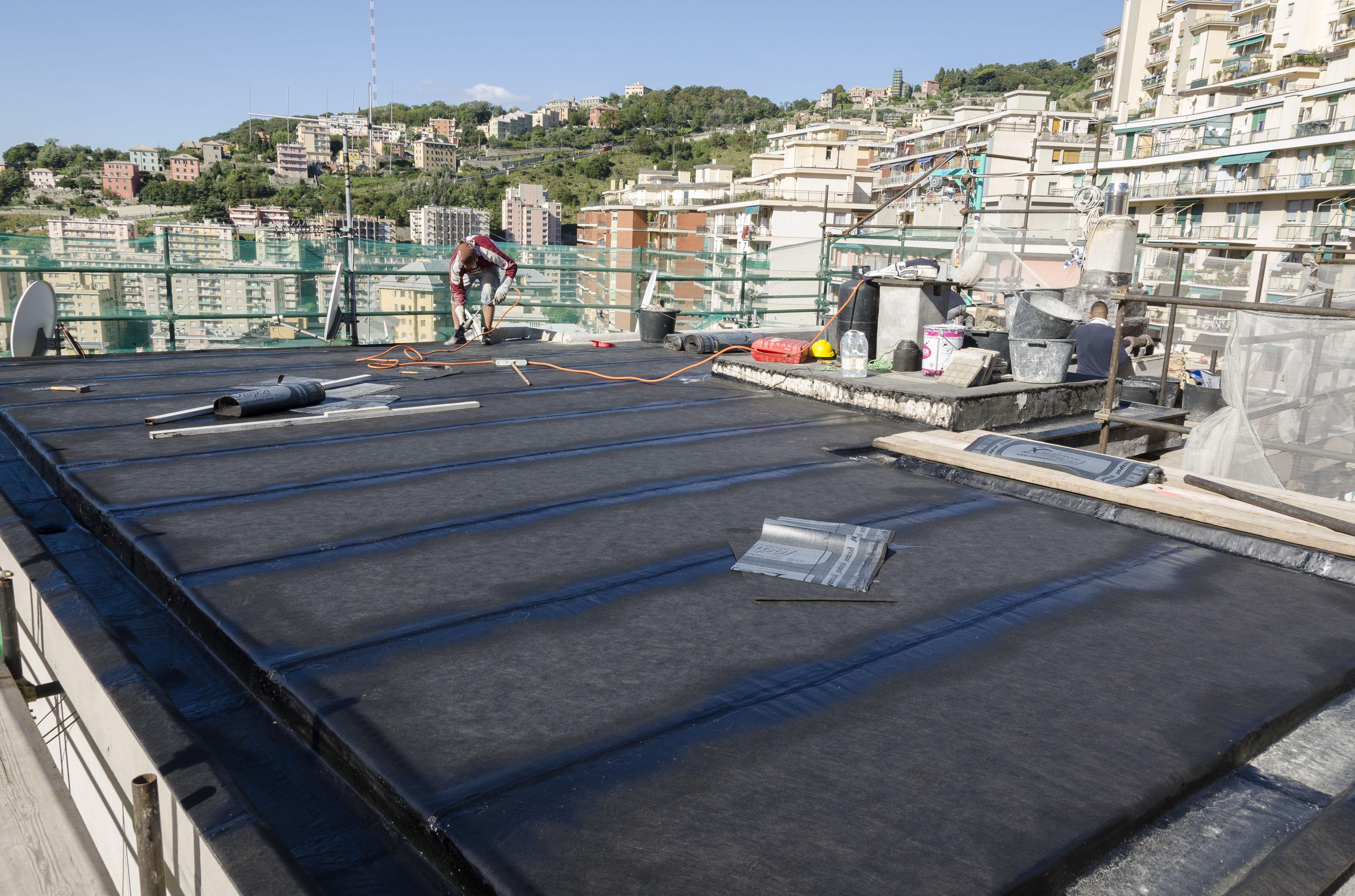 Impermeabilizaciones de cubiertas, tejados y terrazas.