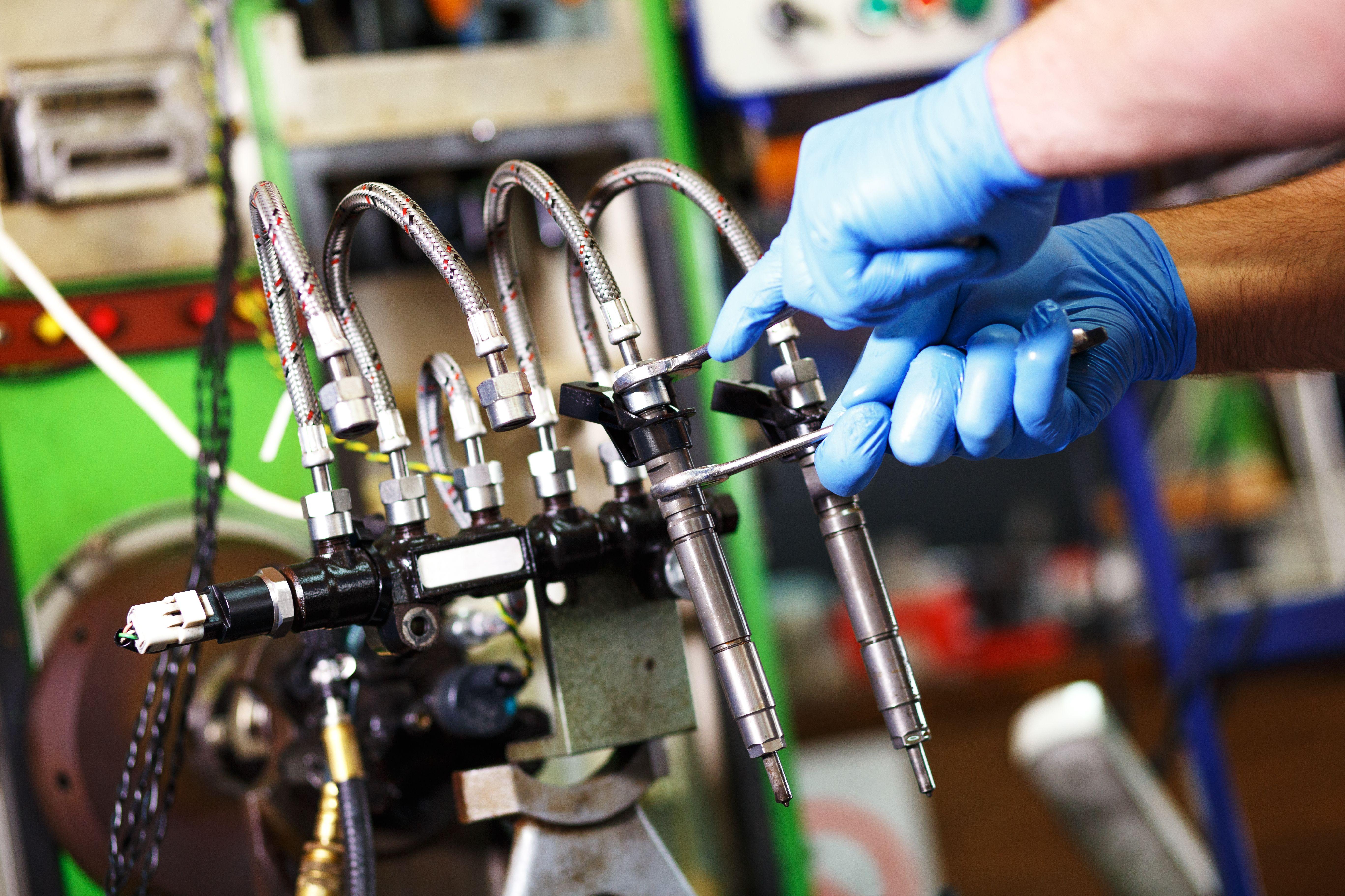 Reparación de inyectores: Servicios de Rectificados Montero