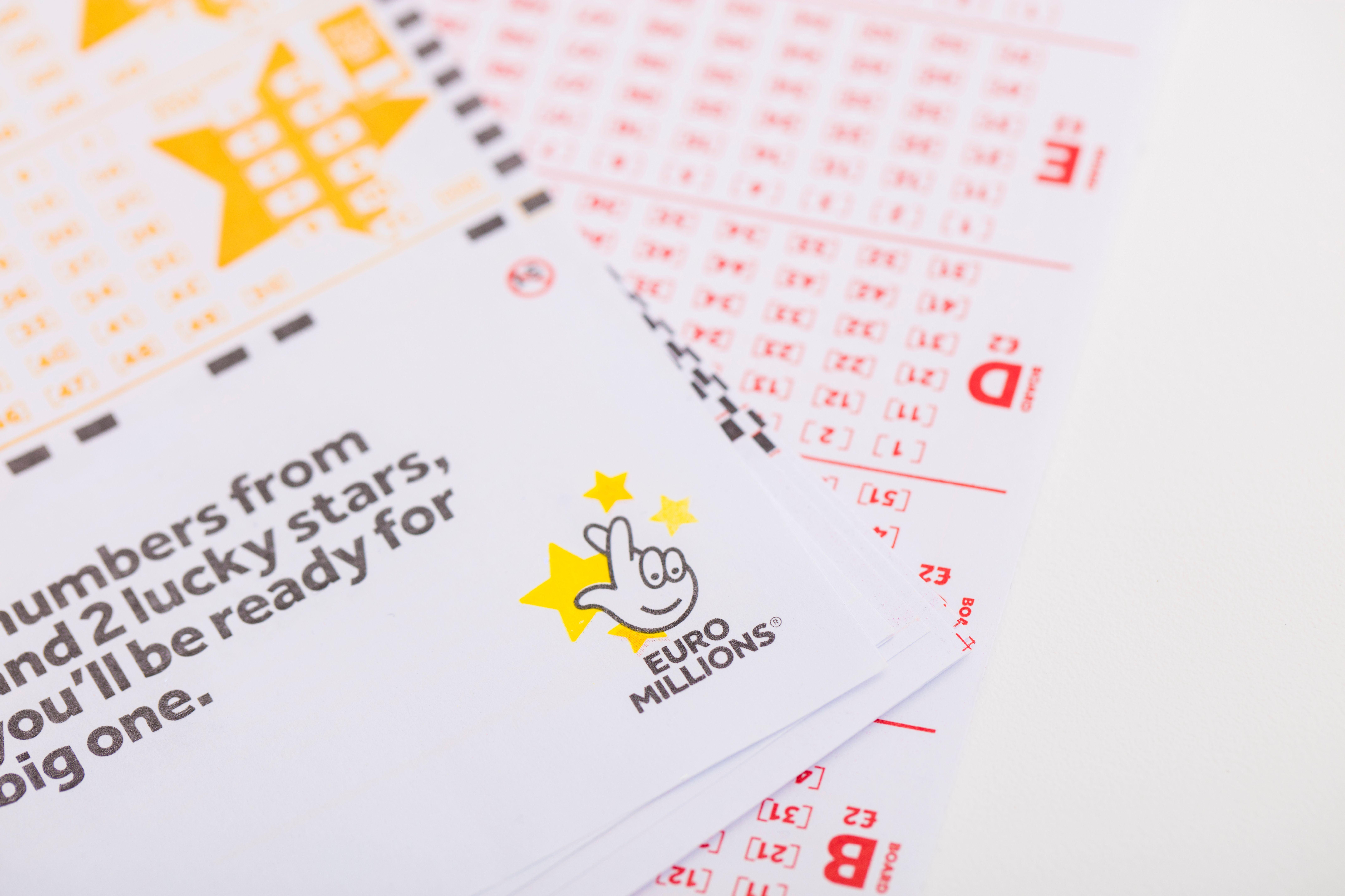 Boletos de lotería