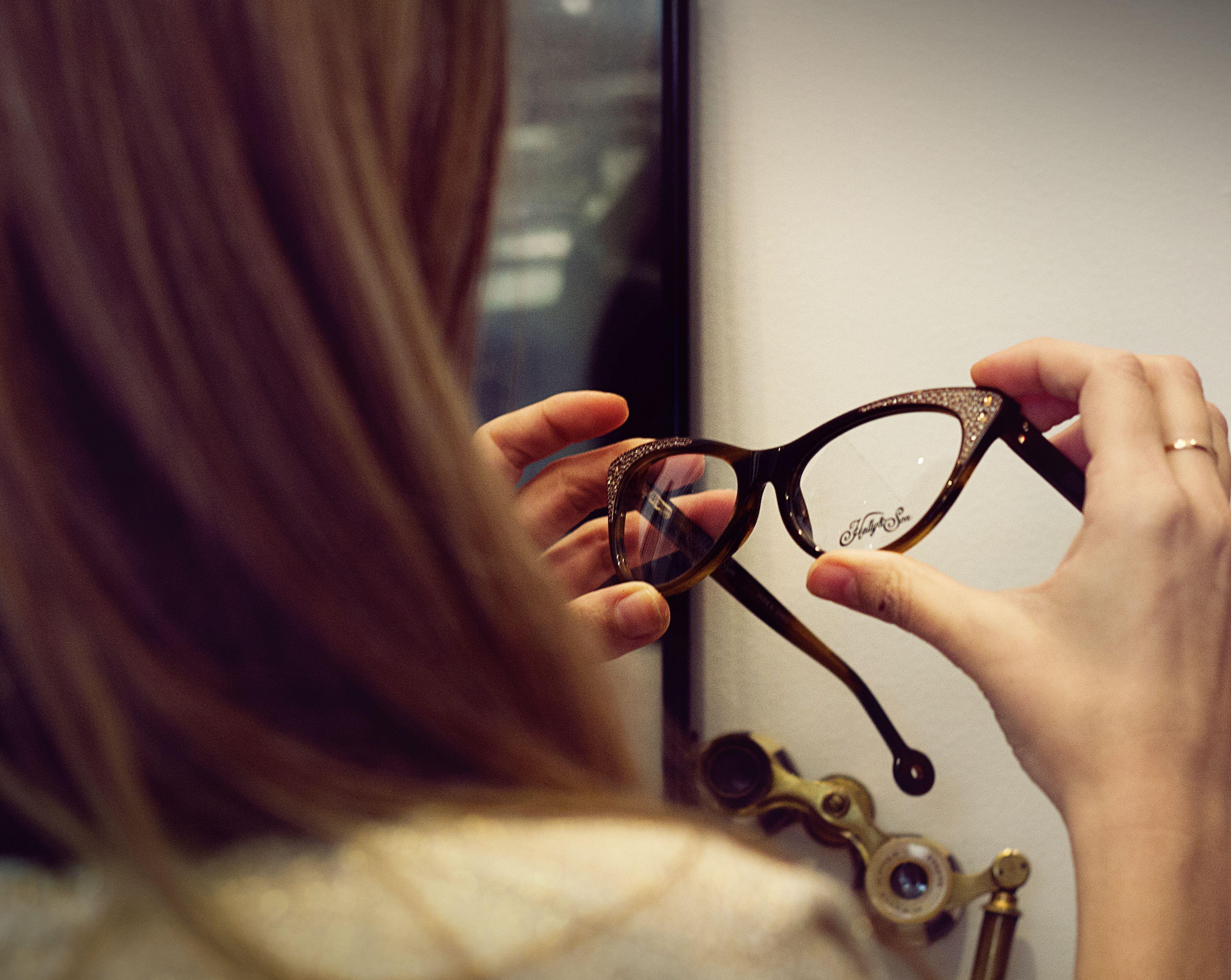 Monturas para gafas de diseño