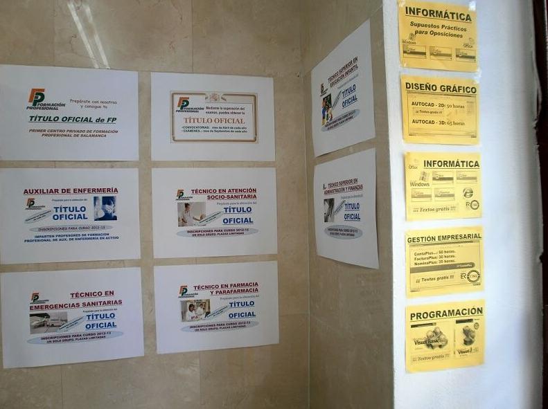 Obtención de títulos oficiales de formación profesional en Salamanca