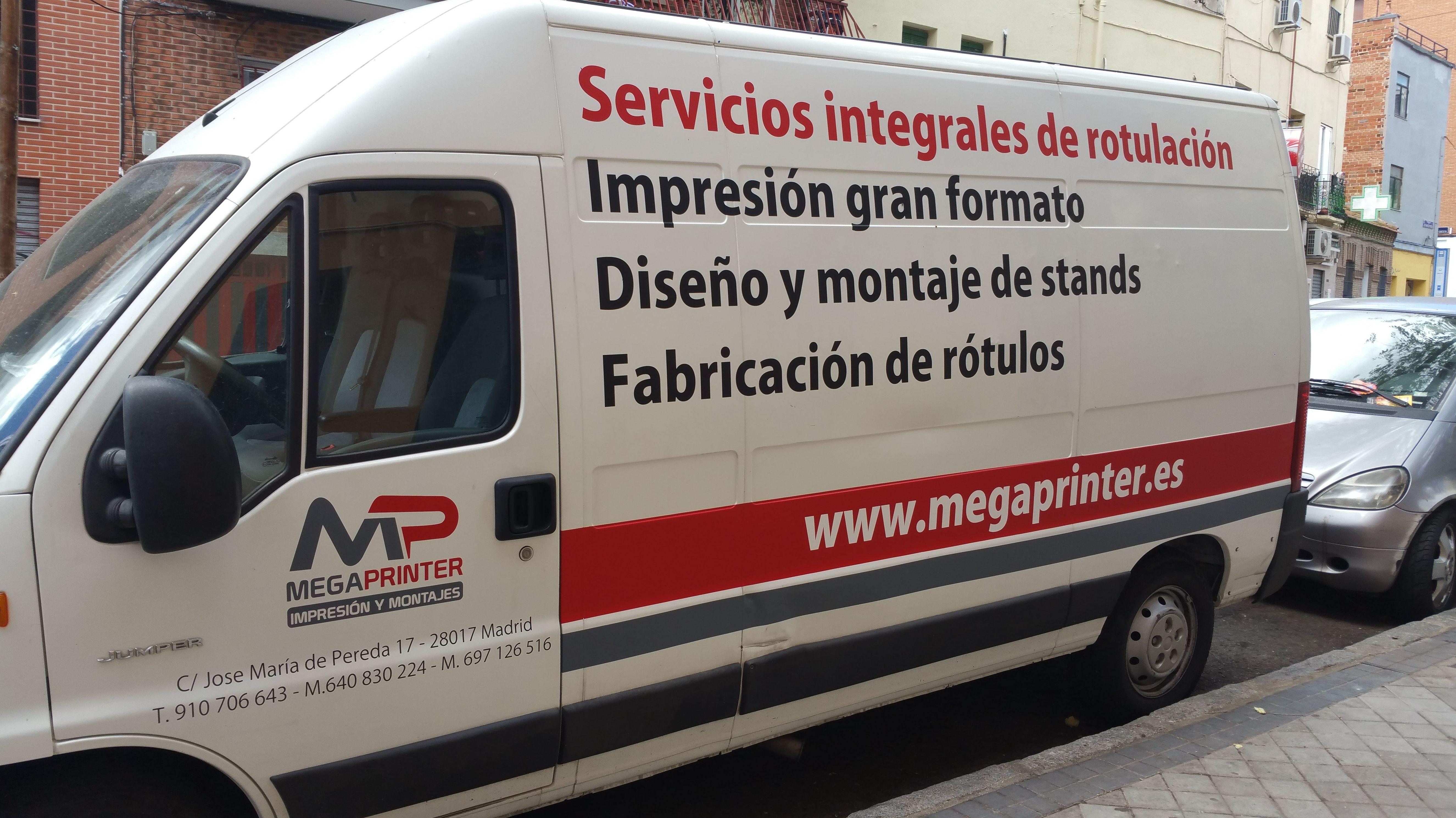 Foto 87 de Trabajos de diseño e impresión de gran calidad en Madrid | Megaprinter