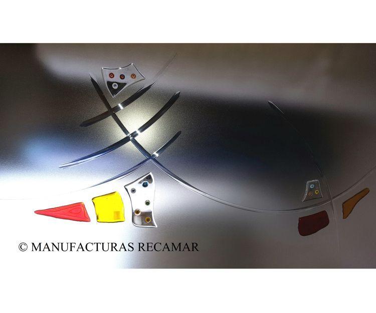 Inserciones decorativas para vidrios laminados: Productos y servicios de Manufacturas Recamar