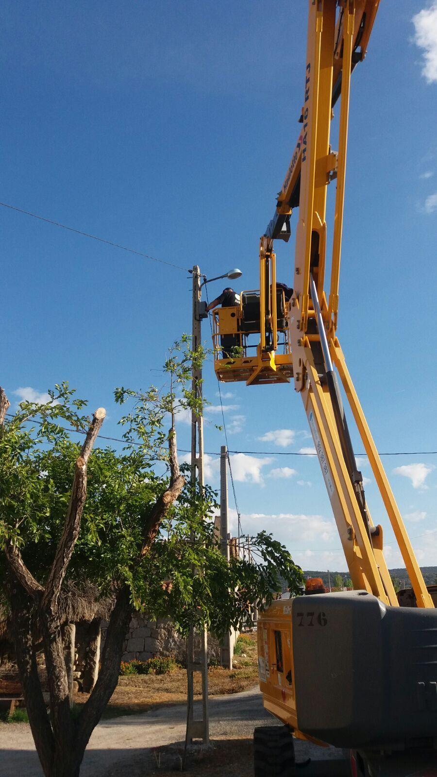Instalación de antenas en Ávila