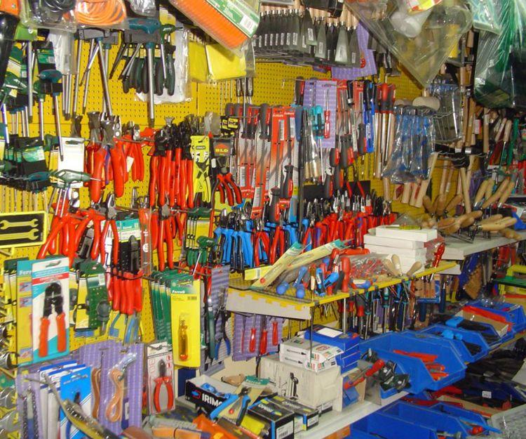 Productos de ferretería en Málaga