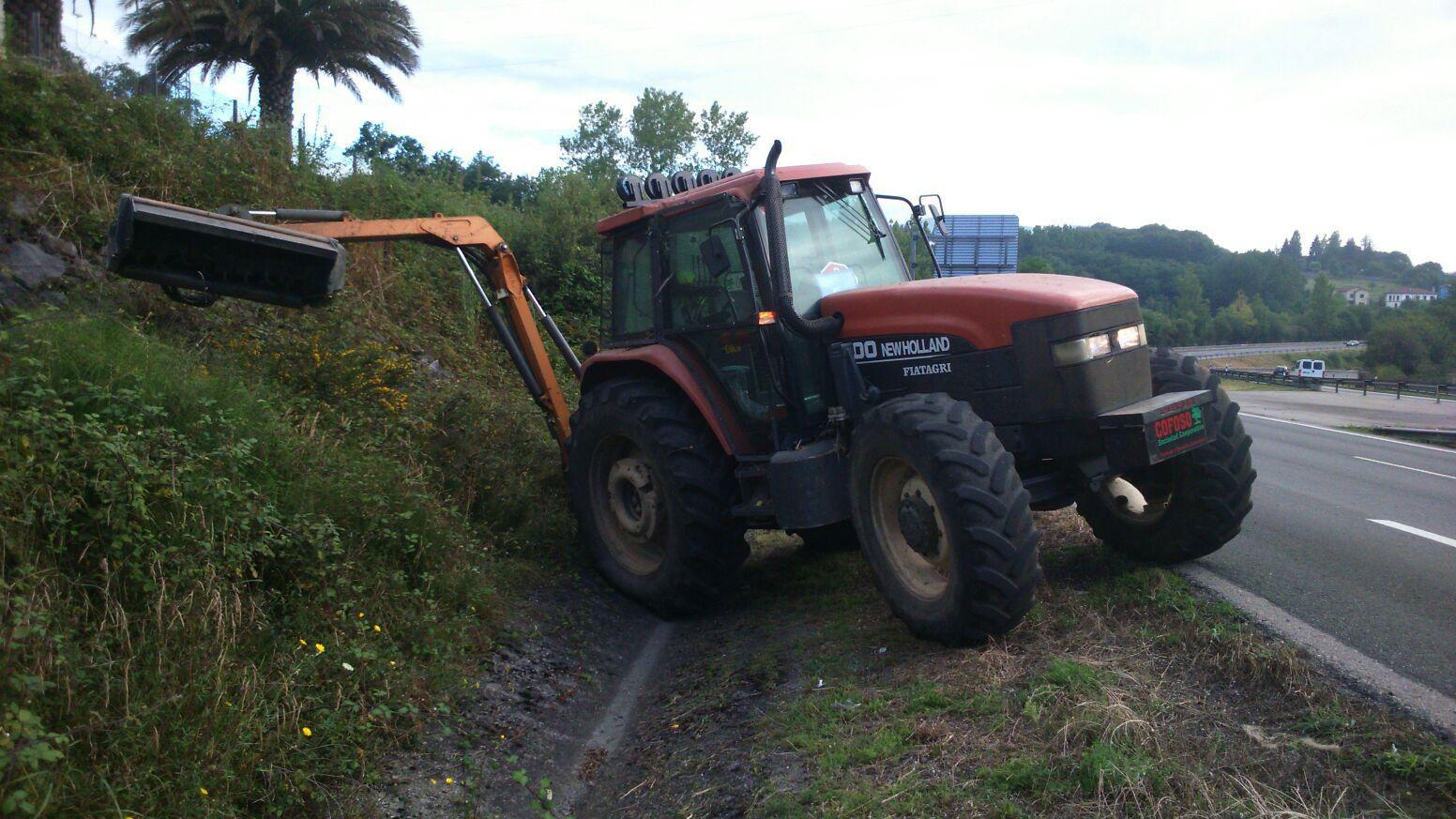 Desbroces, limpiezas y conservación de viales: Servicios de Cofoso