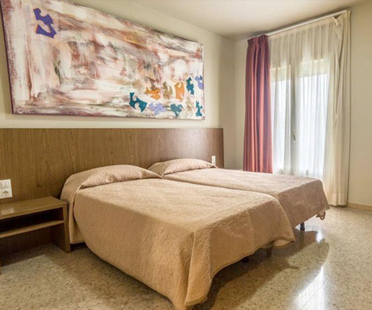 Habitaciones amplias en Balaguer