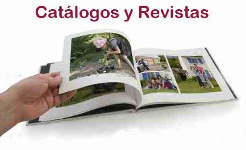 Catálogos y revistas: Productos de Ardines Impresores