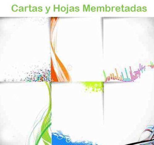 Cartas y hojas con membrete en Bilbao