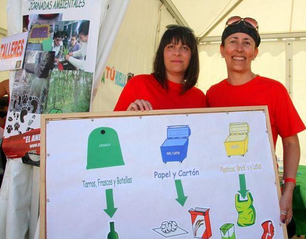 Jornadas de educación ambiental sobre reciclado