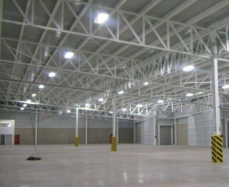 Instalaciones de alumbrado industrial: Servicios de Inyser