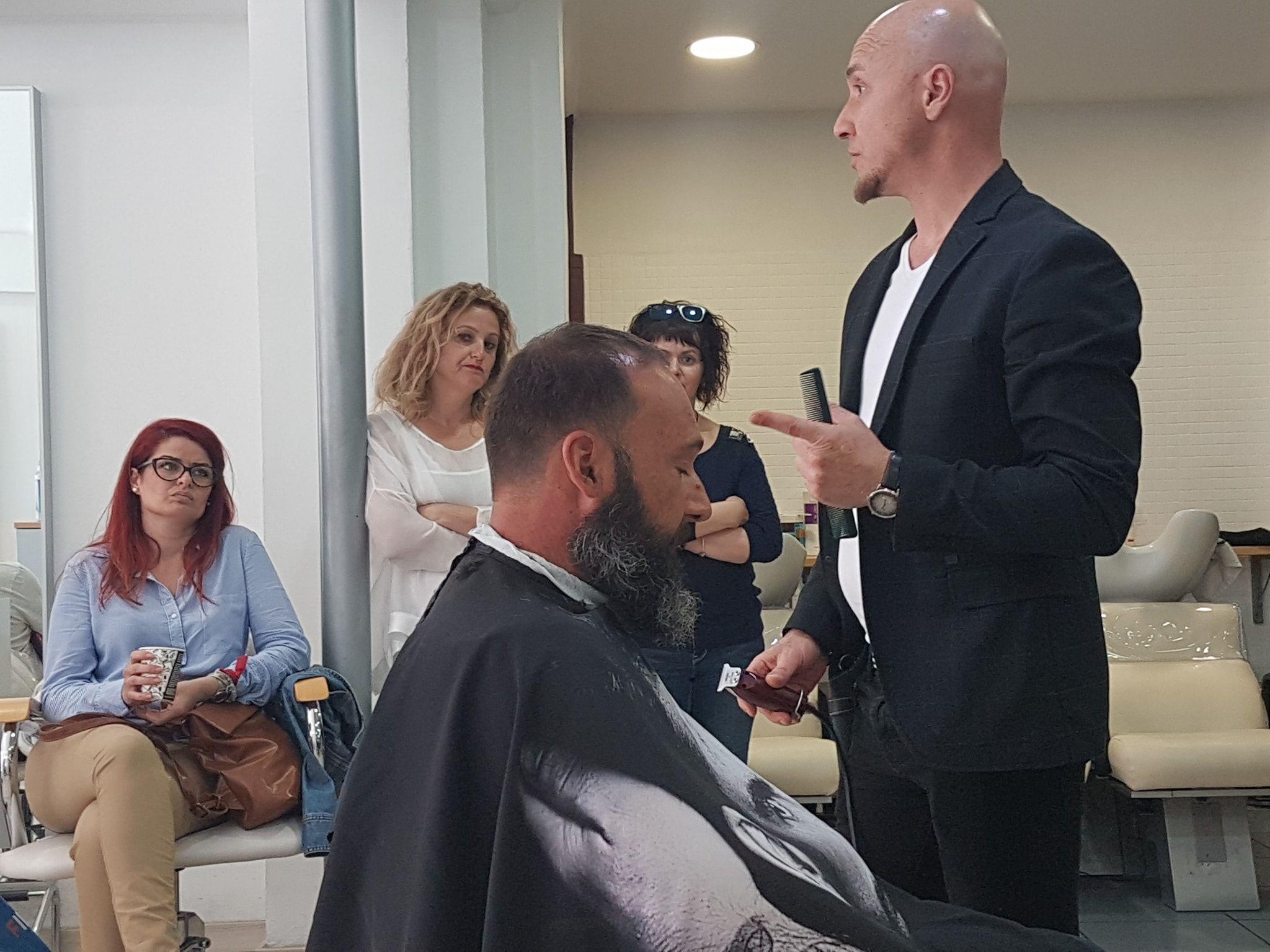 Cursos de Barbería: Servicios de Alta Peluquería Lenin Style