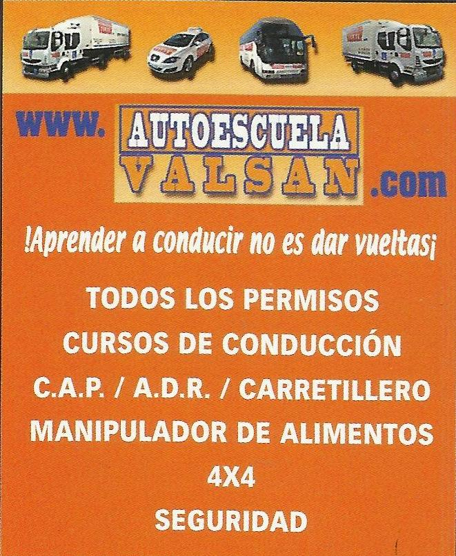 Otros cursos: Permisos y Cursos de Autoescuela Valsan