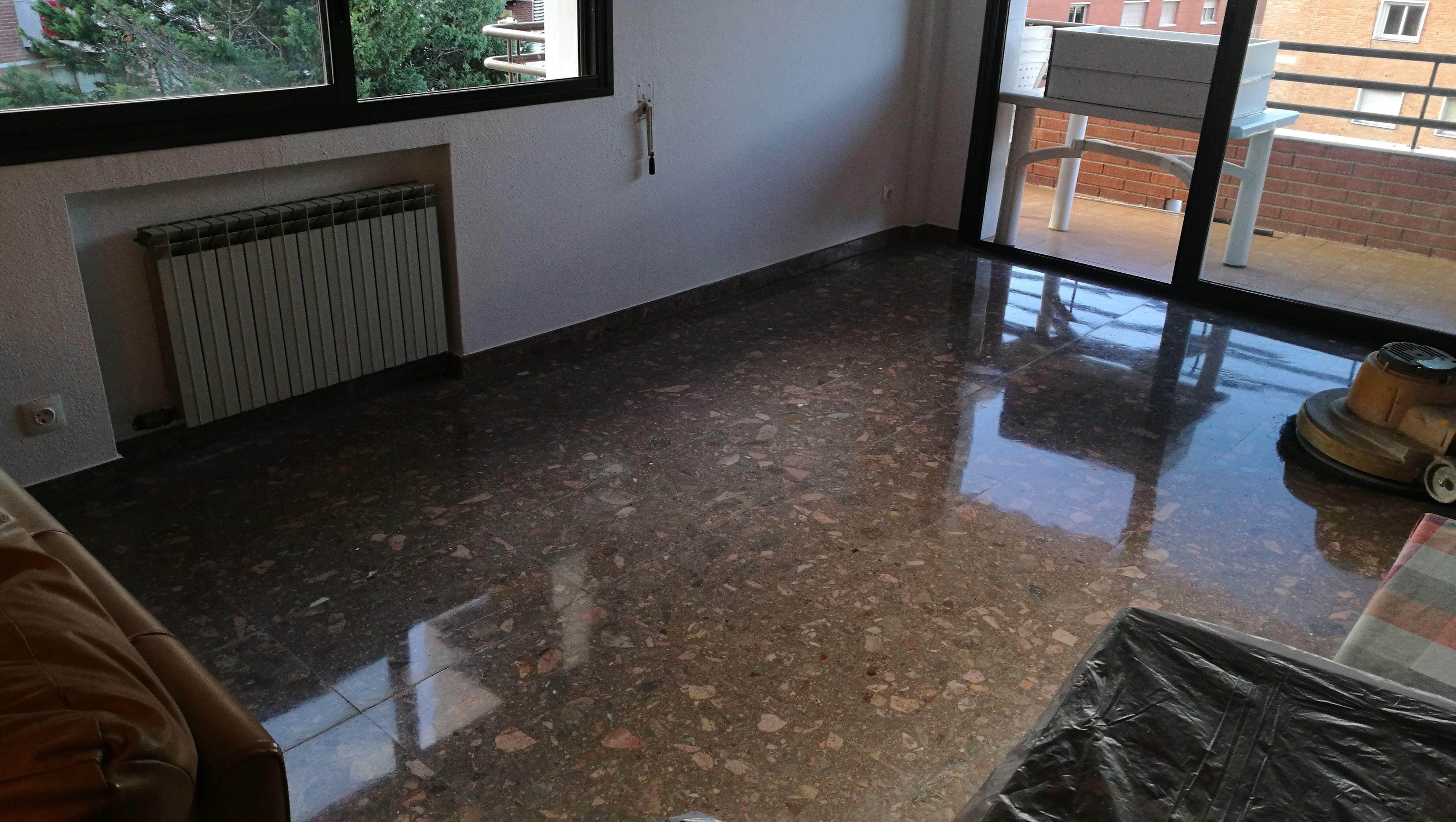 Pulido de  suelos Tarragona