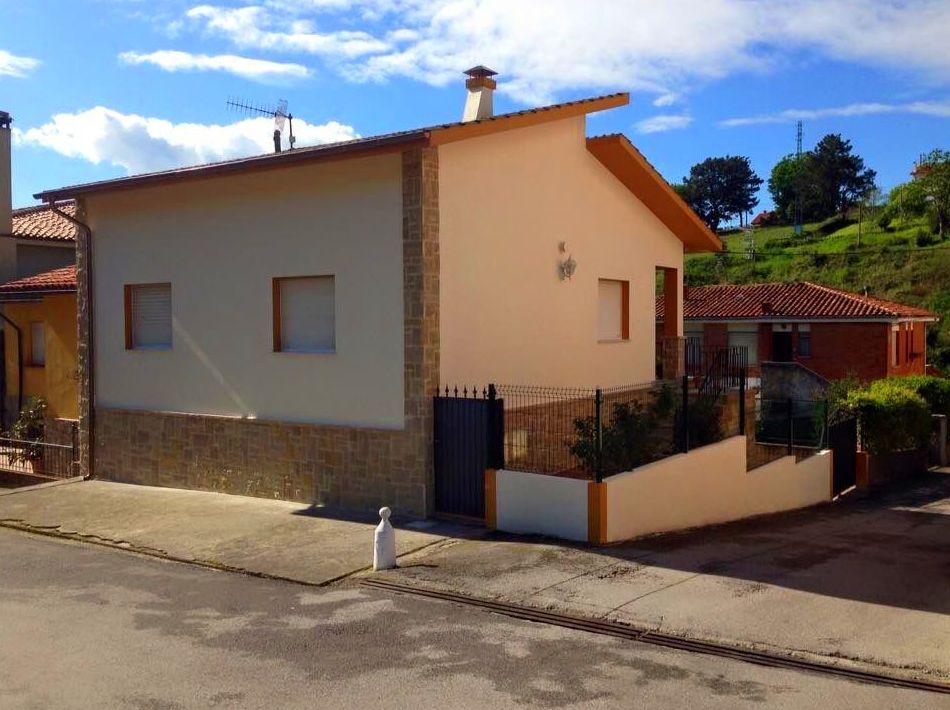 Foto 69 de Fachadas en Colunga | Construcciones Espiniella