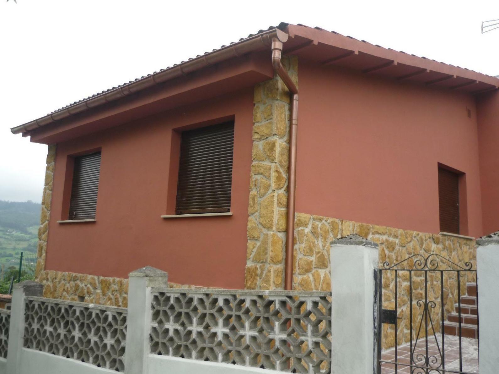 Rehabilitación de fachadas en Colunga