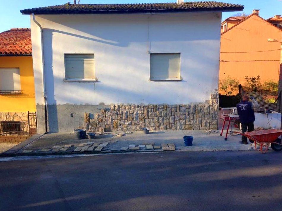 Foto 67 de Fachadas en Colunga | Construcciones Espiniella