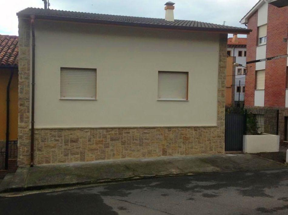 Foto 70 de Fachadas en Colunga | Construcciones Espiniella