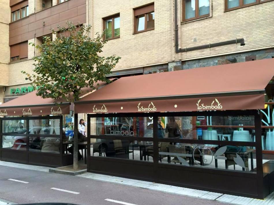 Cerramiento de terrazas para bares en Oviedo
