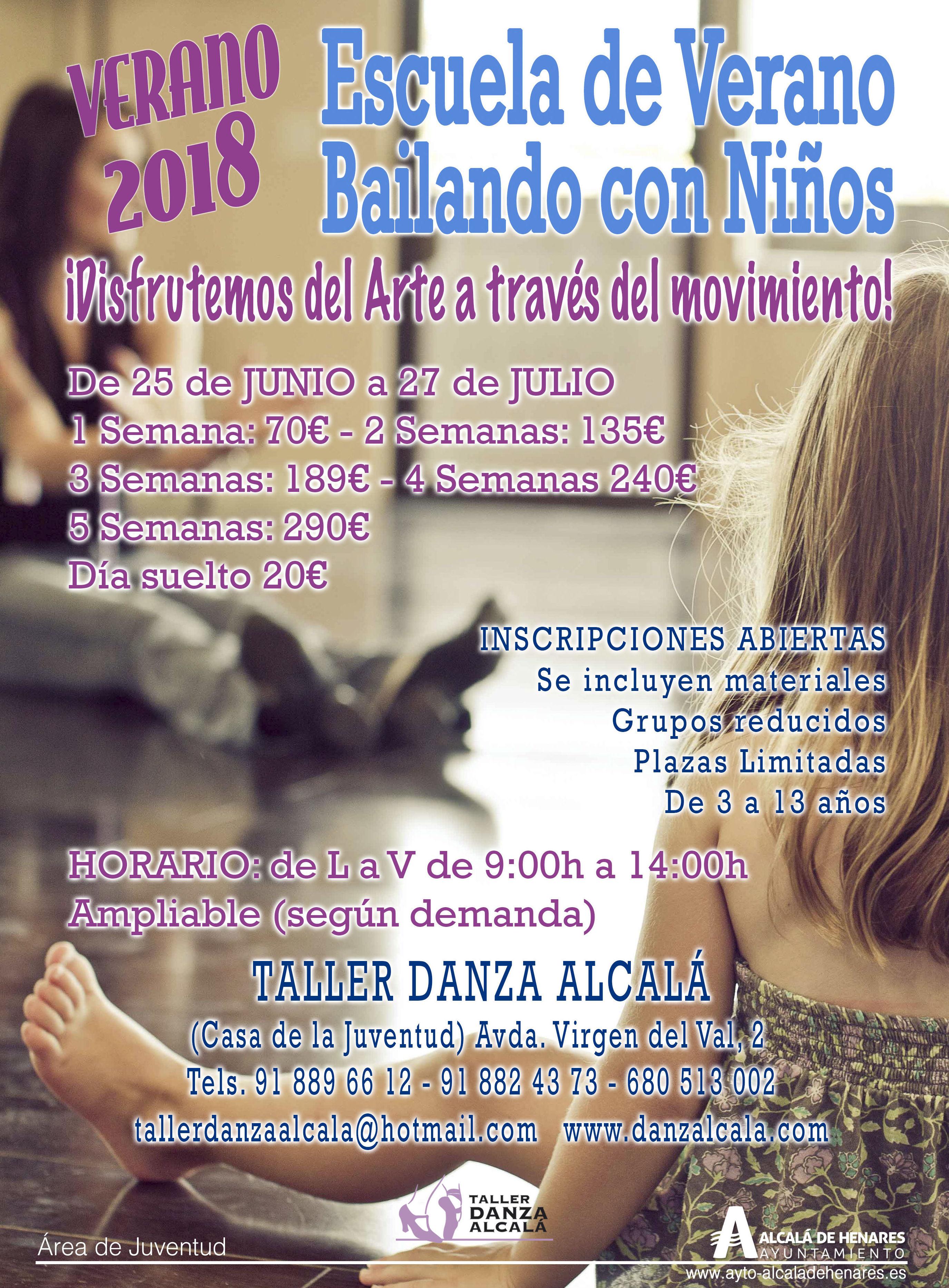 """CAMPAMENTO DE VERANO """"BAILANDO CON NIÑOS"""""""