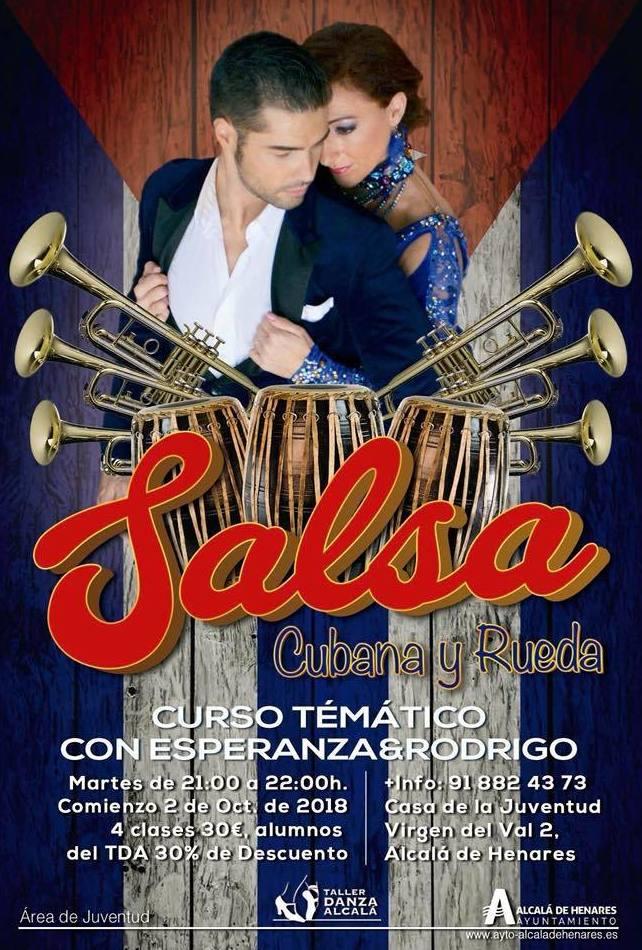 Temático de Salsa Cubana y Rueda con Esperanza&Rodrigo