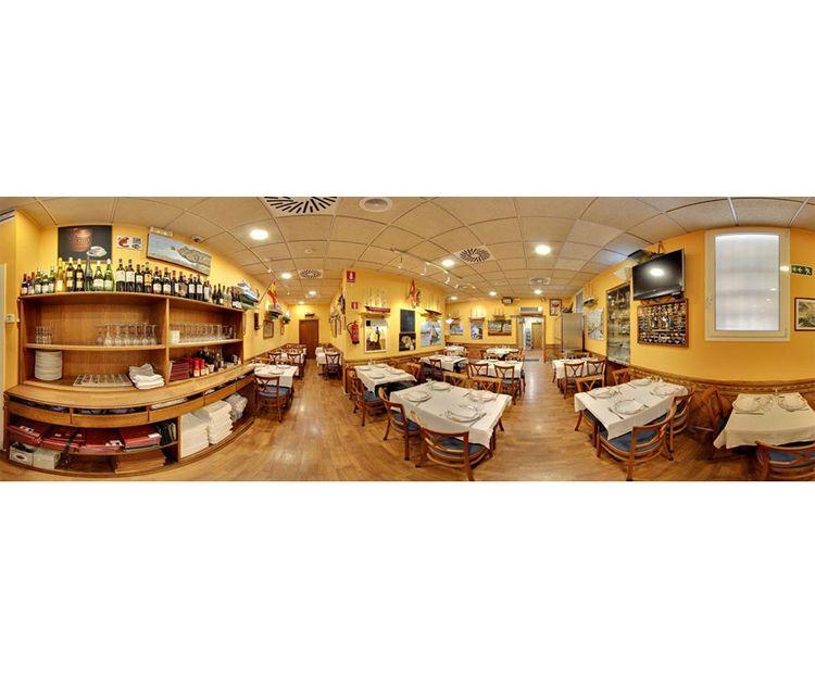 Interior de nuestro restaurante en Barcelona