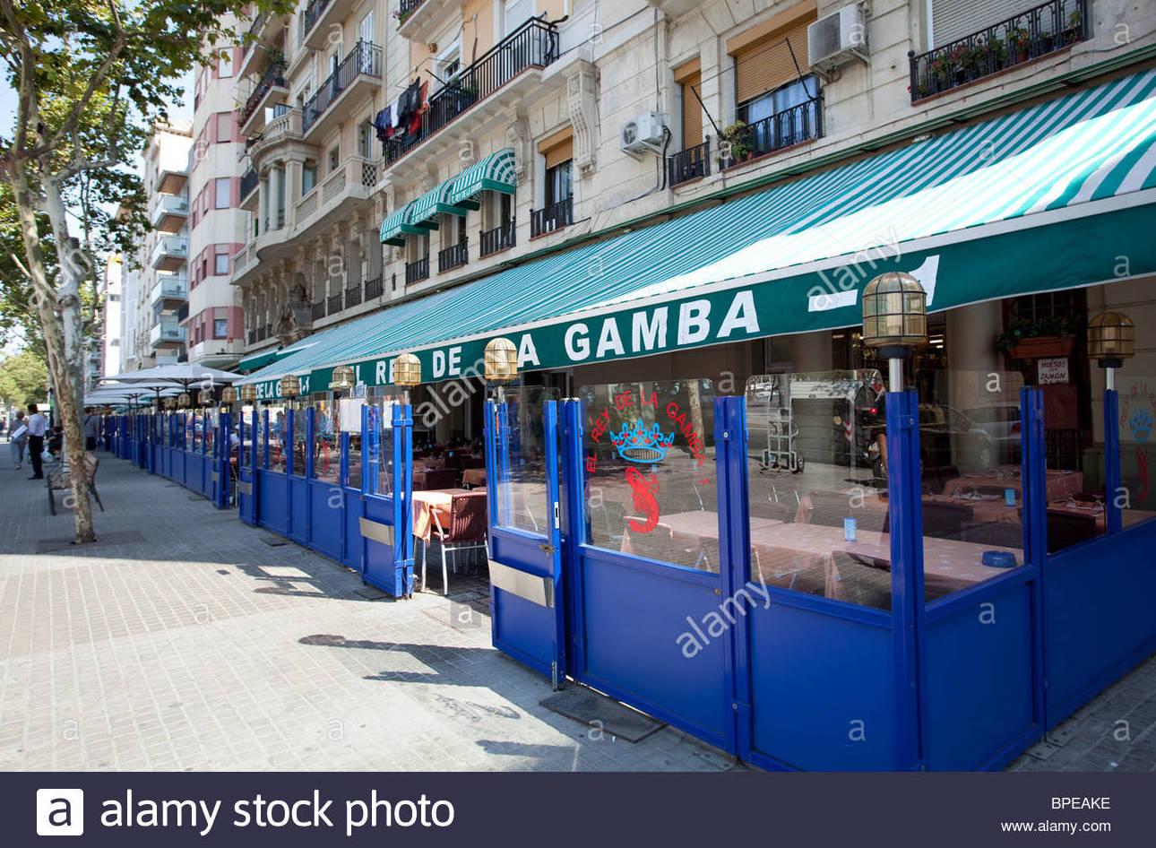 EL REY DE LA GAMBA RESTAURANTE EN LA BARCELONETA