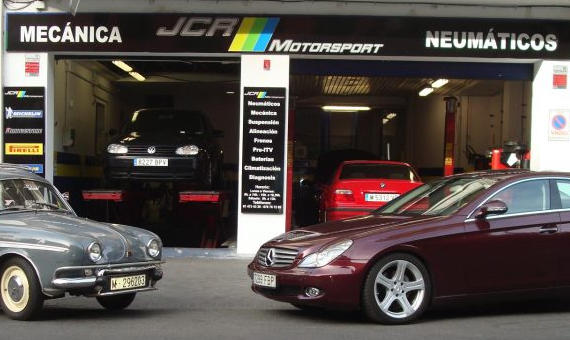 Foto 1 de Taller multimarca en Madrid | JCR Motorsport