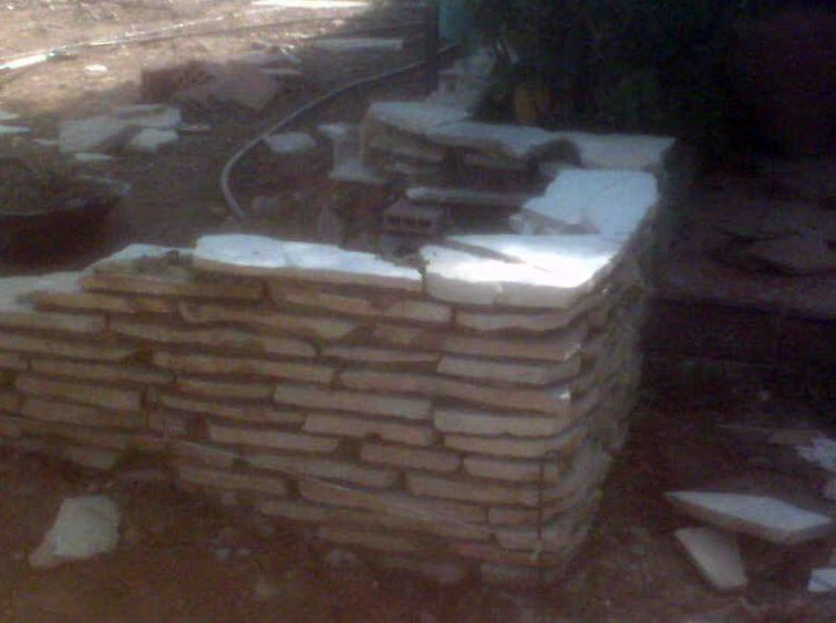 Trabajos de albañilería para la construcción de jardines