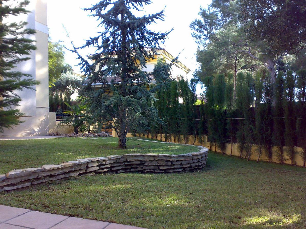 Mantenimiento de jardines comunitarios en Valencia
