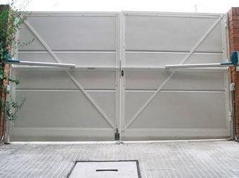 Iinstalación de puertas automáticas en Madrid