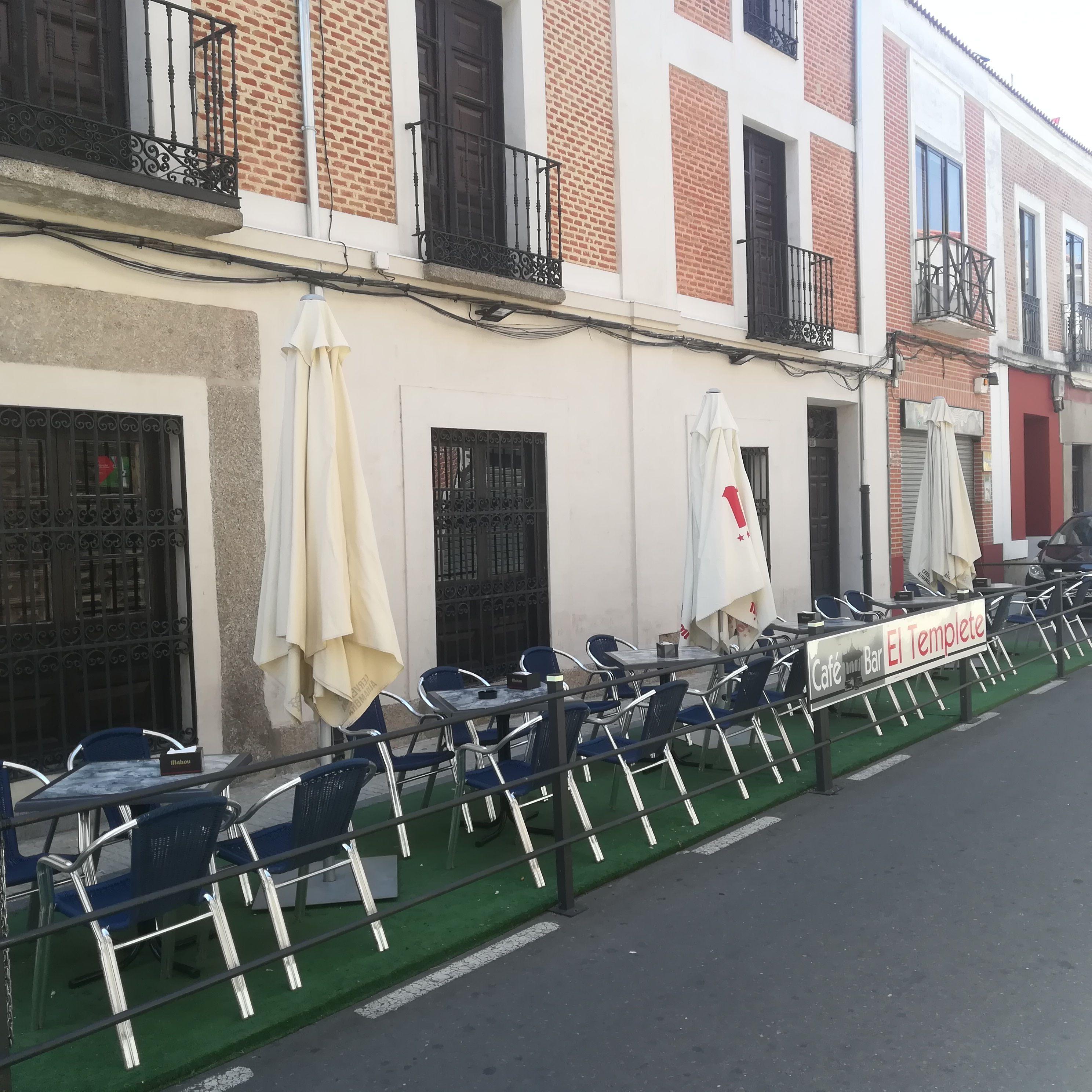 Cafetería con terraza en Peñaranda de Bracamonte