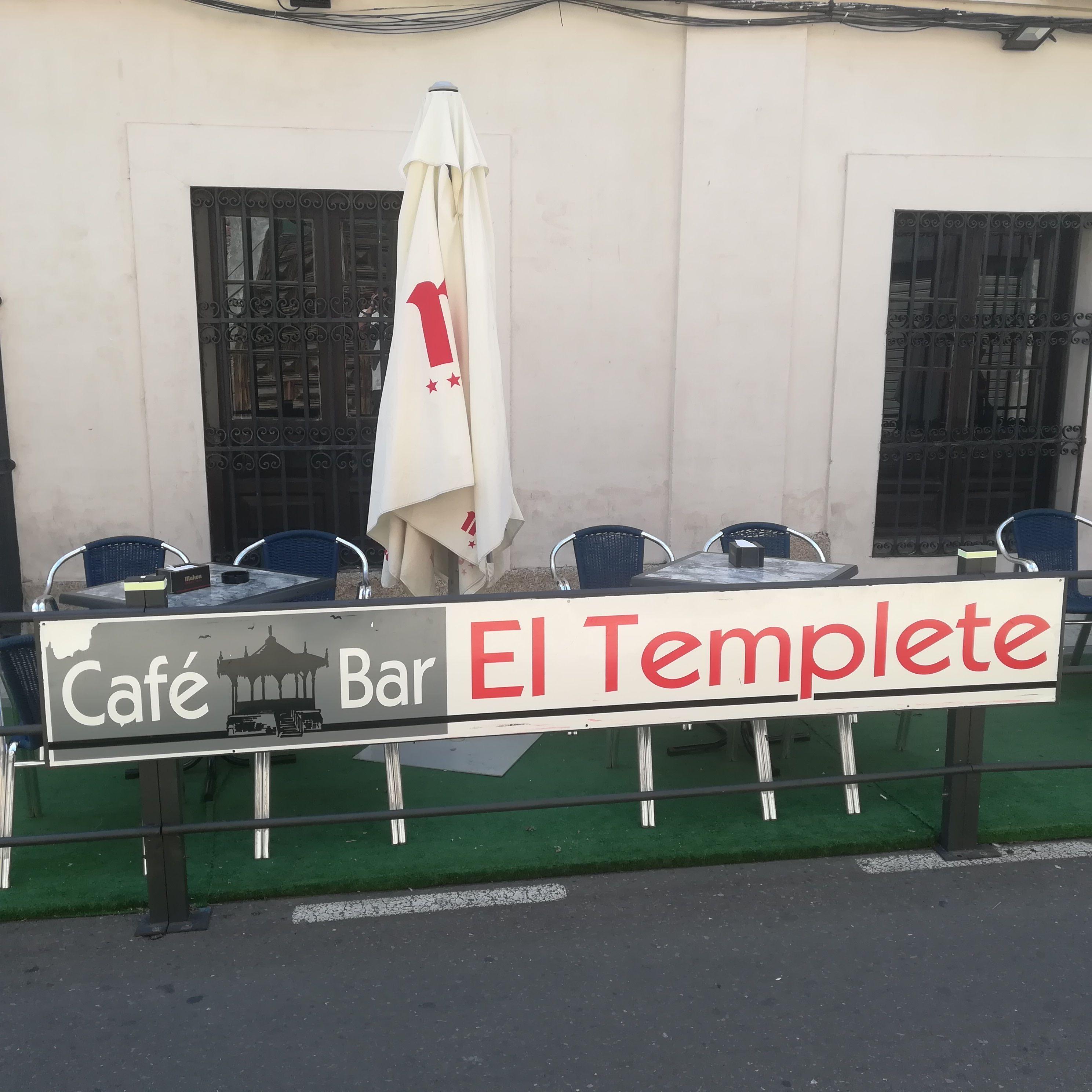 Bar con terraza en Peñaranda de Bracamonte