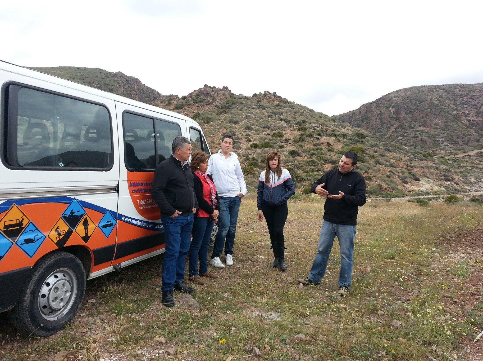 Rutas guiadas en furgoneta en la provincia de Almería