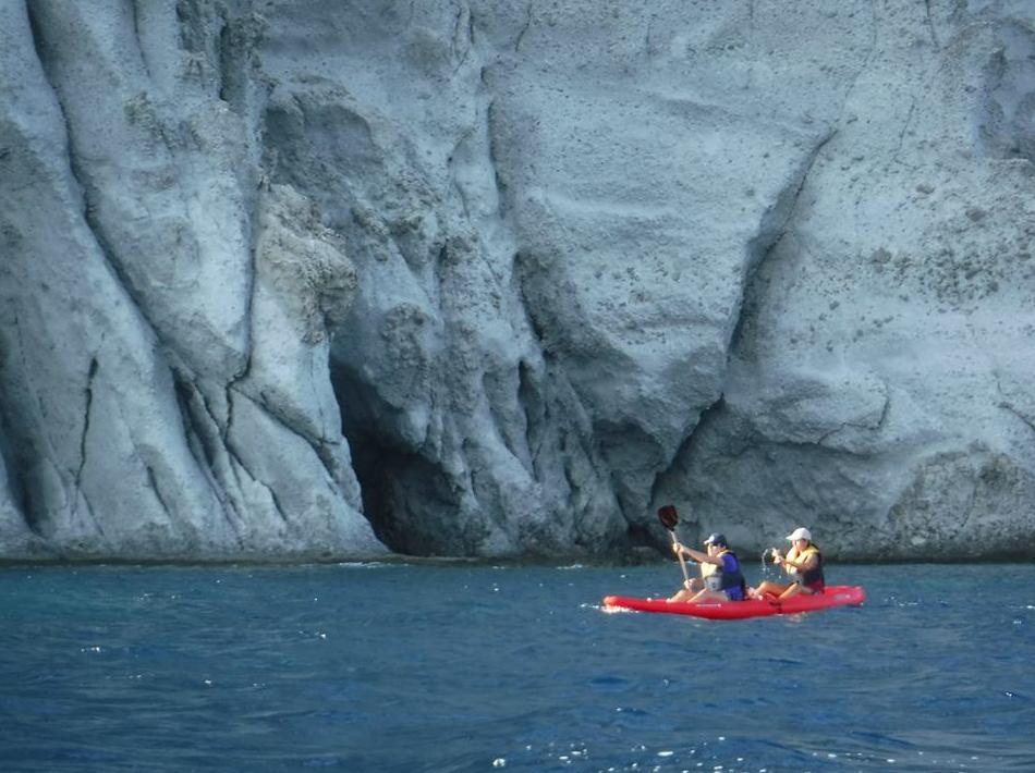 Visitas guiadas en kayak de la costa del Parque Natural Cabo de Gata - Níjar