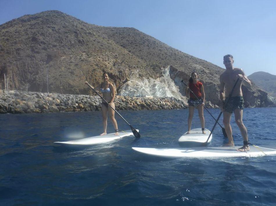 Rutas en paddle surf por las costas del Cabo de Gata