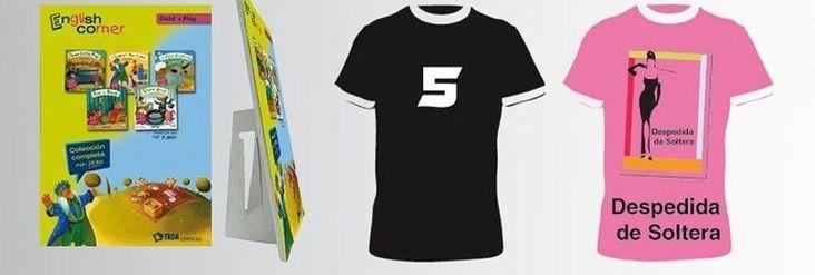 Estampación de camisetas en Barcelona